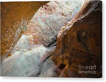 Rock Light Canvas Print