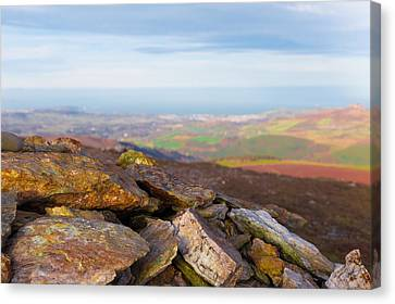 Rock Minerals Found In The Wicklow Mountains Canvas Print