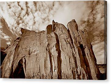 Rock Mound Canvas Print