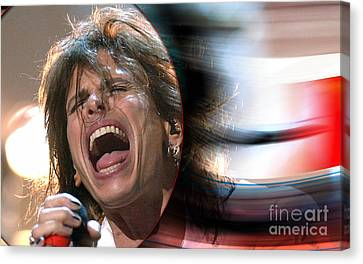 Rock N Roll Steven Tyler Canvas Print