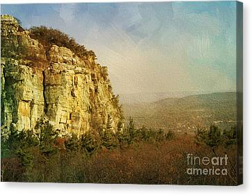 Rock Of Ages Canvas Print by A New Focus Photography