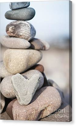 Rock Solid Love Canvas Print by Anne Gilbert