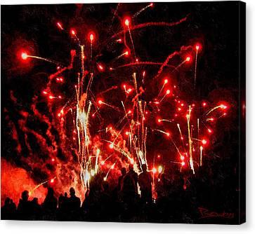 Rocket's Red Glare Canvas Print