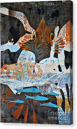 Rockfish And Rollfish Canvas Print