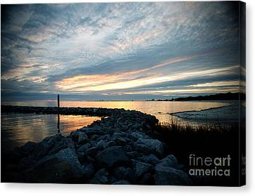 Rockin Sundown Canvas Print