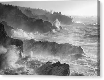 Rockin' The Coastline Canvas Print