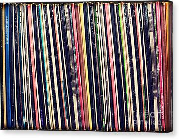 Stacked Canvas Print - Rockollection by Delphimages Photo Creations