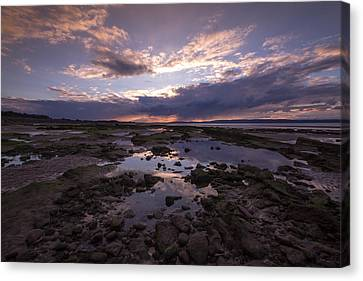 Rockpool Reflections Canvas Print by Karl Normington