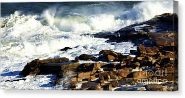 Rockport Canvas Print by Kenny Glotfelty
