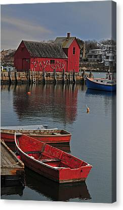 Rockport No. 1 Canvas Print by Mike Martin