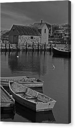 Rockport No.  2 Canvas Print by Mike Martin