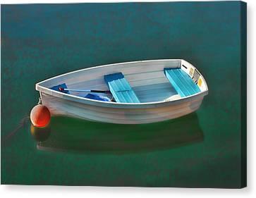 Rockport Row Boat Canvas Print by Joann Vitali