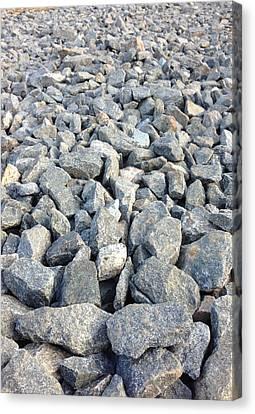 Rocks Canvas Print by Roque Rodriguez