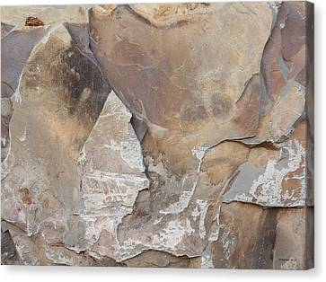 Canvas Print featuring the photograph Rocky Edges by Jason Williamson