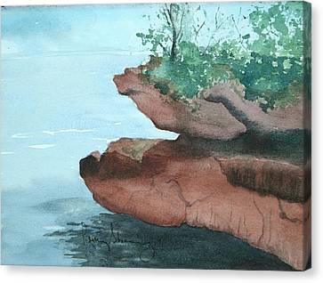 Rocky Ledge Canvas Print