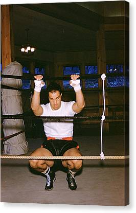Rocky Marciano Stretching Canvas Print by Retro Images Archive