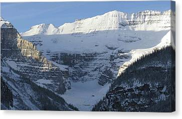 Rocky Mountain Blue Canvas Print by Cheryl Miller