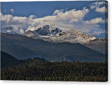 Rocky Mountain High Canvas Print by Anne Rodkin