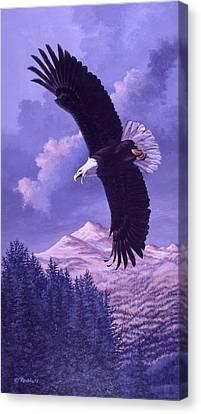 Rocky Mountain High Canvas Print by Richard De Wolfe