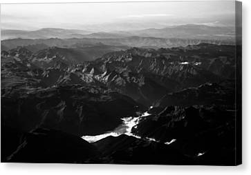 Rocky Mountain Morning Canvas Print by John Daly