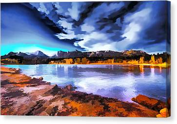 Rocky Mountain Surprise Canvas Print