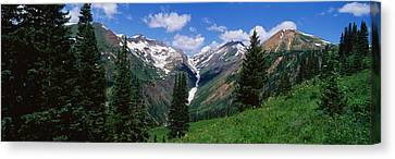 Rocky Mountains Co Canvas Print by Panoramic Images