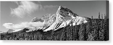 Thaw Canvas Print - Rocky Mountains, Winter, Alberta, Canada by Panoramic Images