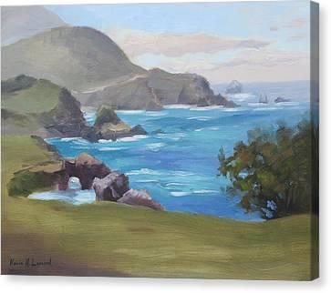 Rocky Point Big Sur Canvas Print