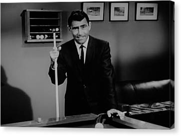 Rod Serling Canvas Print by Rob Hans