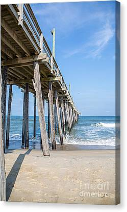Rodanthe Pier Canvas Print by Kay Pickens