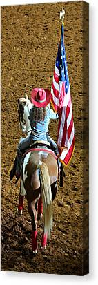 Rodeo Salute Canvas Print