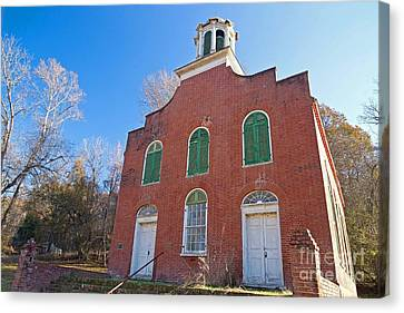 Rodney Presbyterian Church Canvas Print by Russell Christie