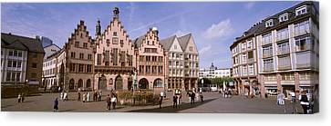 Roemer Square, Frankfurt, Germany Canvas Print by Panoramic Images
