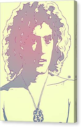 Icon Canvas Print - Roger Daltrey by Giuseppe Cristiano