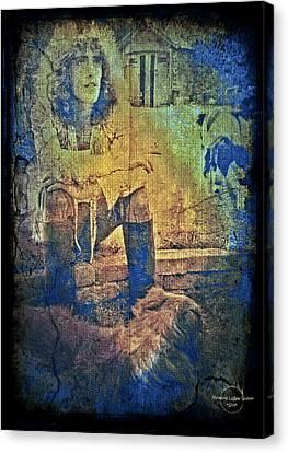 Roger Daltrey Canvas Print by Absinthe Art By Michelle LeAnn Scott