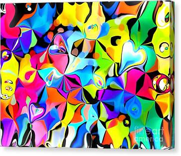 Fuschia Canvas Print - Roguerip by SusanMarie StudioZ