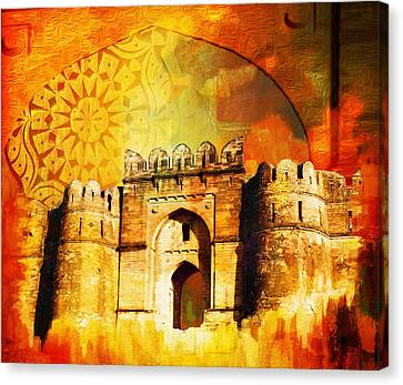 Rohtas Fort 00 Canvas Print by Catf