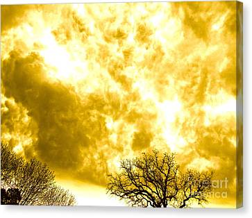 Roiling Clouds Canvas Print by Chuck Taylor