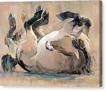 Roll Canvas Print by Mark Adlington
