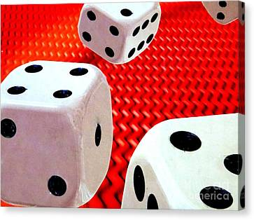 Roll Of The Dice Canvas Print