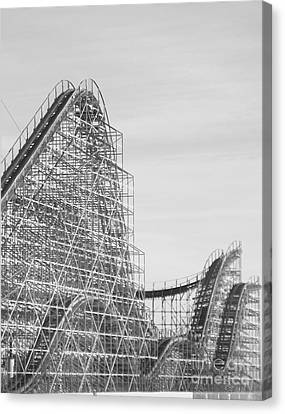 Roller Coaster Wildwood Canvas Print