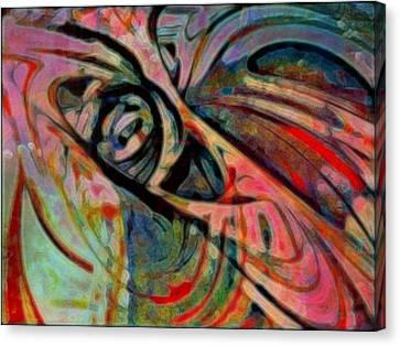 Rollercoaster Canvas Print by Wendie Busig-Kohn