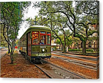 Rollin' Thru New Orleans Canvas Print by Steve Harrington