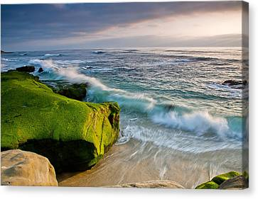 Rolling In Canvas Print by Peter Tellone