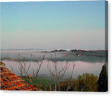 Rolling Mist Canvas Print by Dorothy Berry-Lound