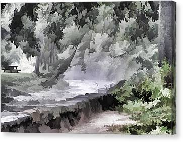 Rolling Waters Canvas Print