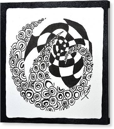 Rolling Zen Canvas Print by Beverley Harper Tinsley