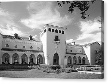 Rollins College Olin Library Canvas Print by University Icons