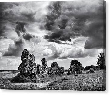 Rollright Stones Canvas Print by Tim Gainey