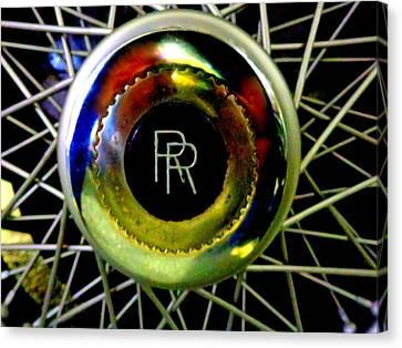 Rolls Royce Canvas Print by Joseph Skompski